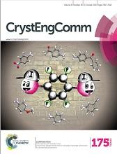 Rad znanstvenikâ Kemijskog odsjeka na naslovnici časopisa CrystEngComm