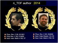 n_TOF author of the year