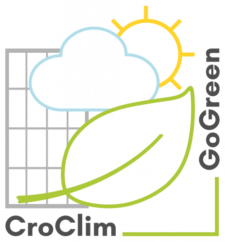 CroClimGoGreen presented at the...
