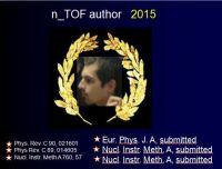 n_TOF author of the year 2015